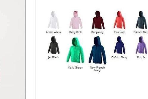 CF Kids Hoodies (with zip)