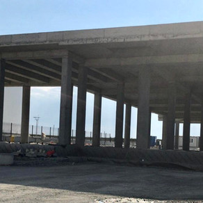 Our Airport Office Building Construction is going on