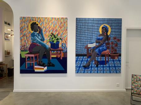 Exhibition in Lausanne: Tafadzwa Tega, Full colored painter