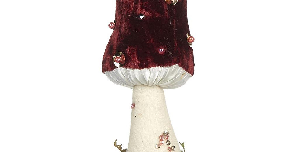 DECORAZIONE NATALIZIA FUNGO - CHRISTMAS DECORATION MUSHROOM
