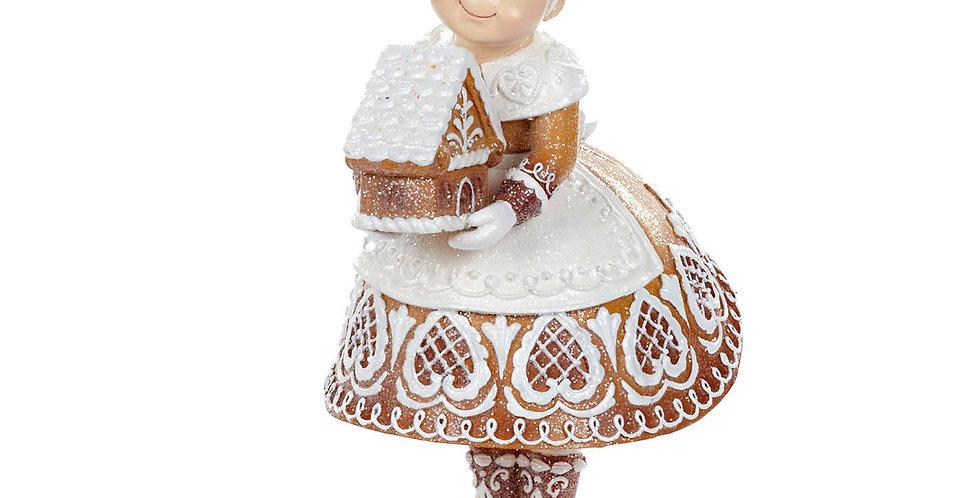 Miss Claus in pan di zenzero