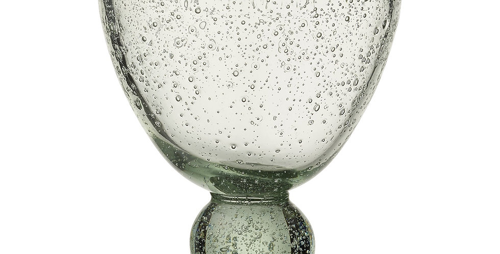 BICCHIERE AGINE BIANCO - AGINE GLASS WHITE
