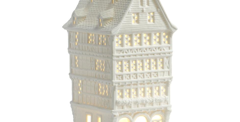 Casetta Porcellana alta con led