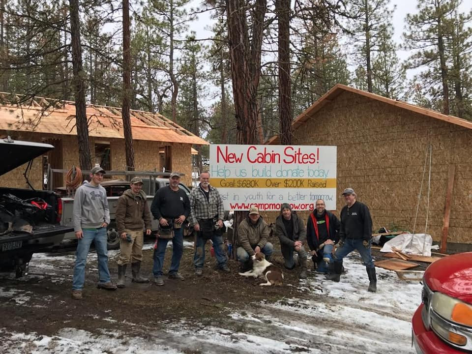 Work crew from Good Shepherd and Foothills churches
