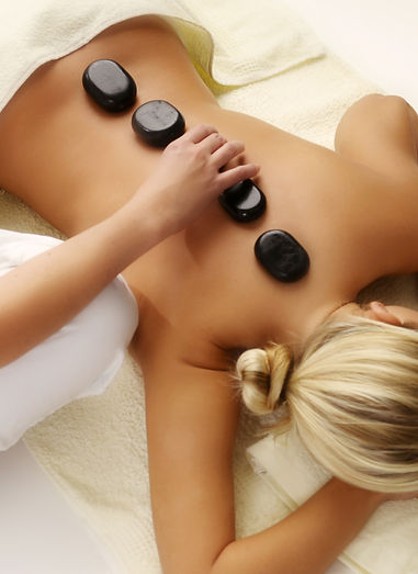 Hot stone massage sxm