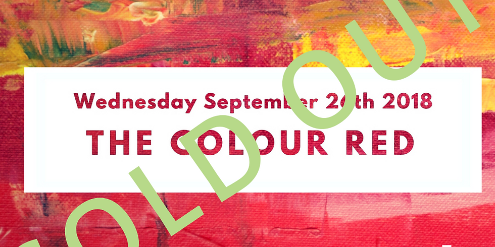 Palette to Palate: The Colour Red