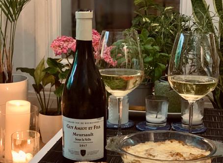 Recipe Pairing: Cheesy Crab Bake & Meursault