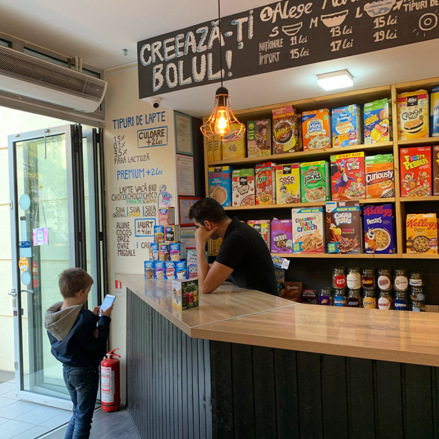 Refuel at The Cereal Crunch Cafe