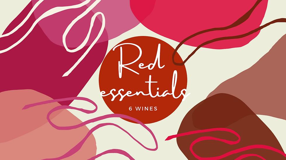 Red Essentials 6 Pack
