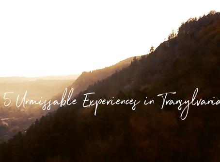 5 Unmissable Experiences in Transylvania
