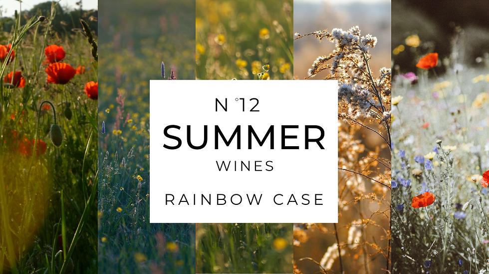 Rainbow of 12 Summer Wines