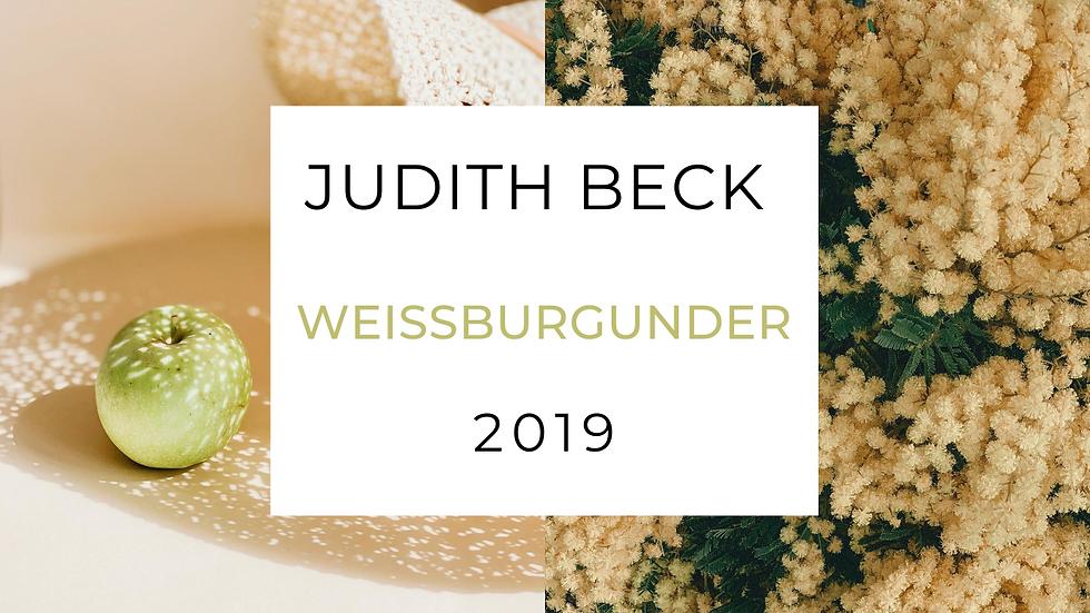 Judith Beck Weissburgunder, Austria 2019