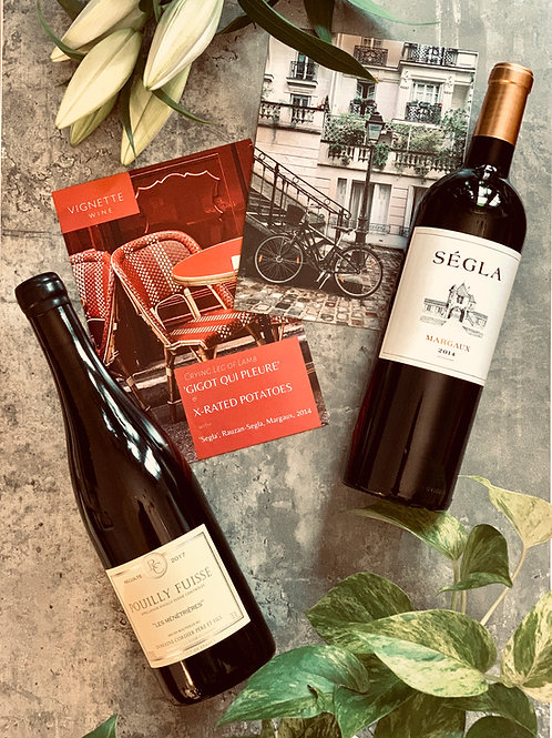 """""""A Night In: France"""". At Home Wine Experience"""