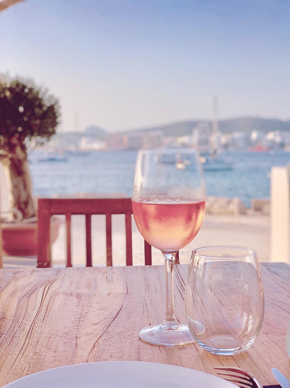 A local Rosé in Ibiza