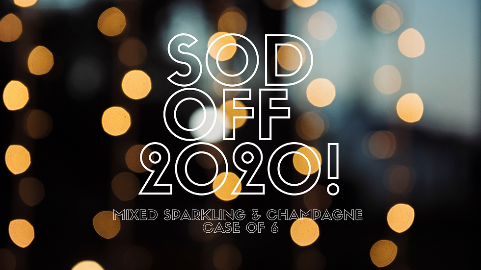 SOD OFF 2020! Mixed Champagne & Sparkling