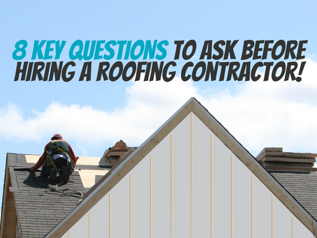 8 KEY QUESTIONS TO ASK BEFORE HIRING A ROOFING CONTRACTOR IN MINNESOTA