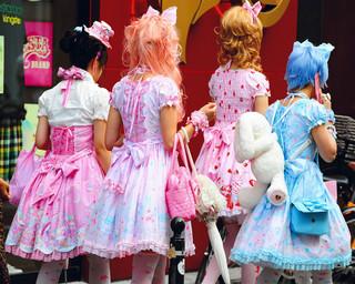 Lolitas, America-Mura, Osaka