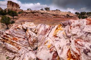 Rainbow Rocks, Soap Creek, Arizona