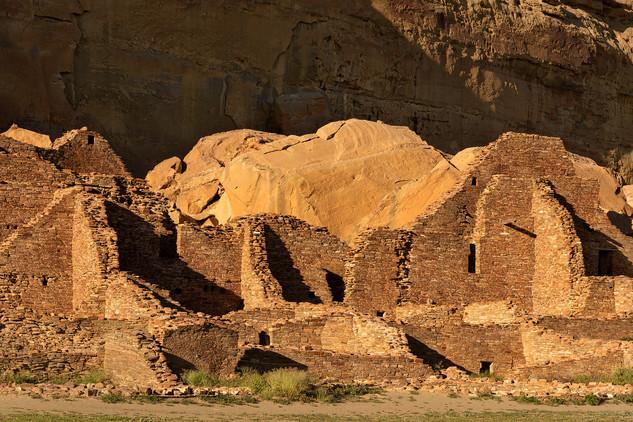 Pueblo Bonito ruins, Chaco National Historical Park, USA