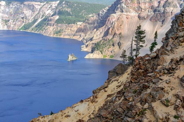 Phantom Ship, Crater Lake NP, Oregon