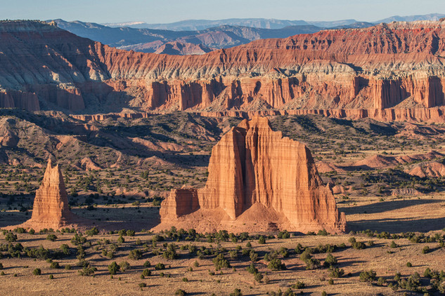 Upper Cathedral Valley Monoliths, Utah
