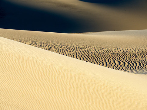 Mesquite Sand Dunes, Death Valley, California, USA