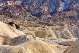 Badlands, Death Valley NP, California