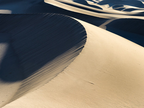 Mesquite Sand Dunes, Death Valley, California, USA