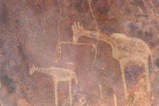 Petroglyphs, Twyfelfontein, Namibia