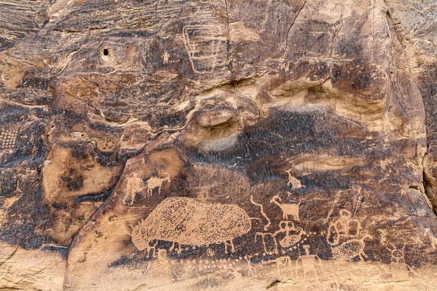 Petroglyphs, Nine Mile Canyon, USA