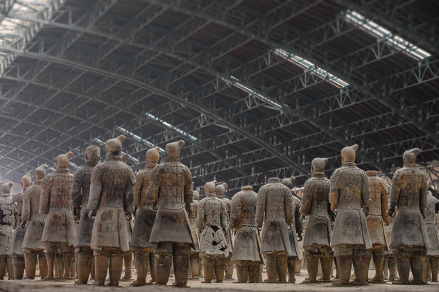 Terracotta Army, Mausoleum of the First Qin Emperor, Xian