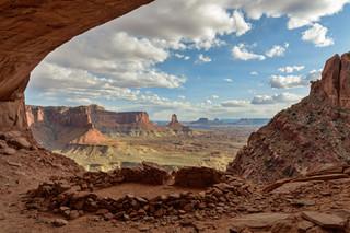 False kiva, Canyonlands NP, USA