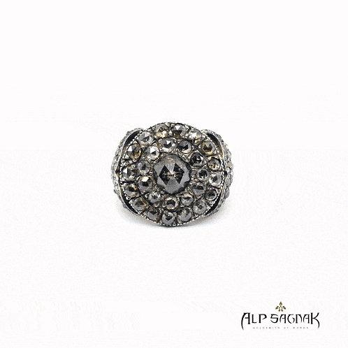 Phoenix Rising Georgian Ring
