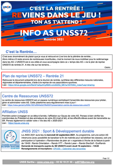 AS_UNSS 72 n°1