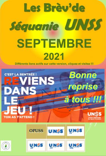 Les Brèves de Séquanie Sept 2021