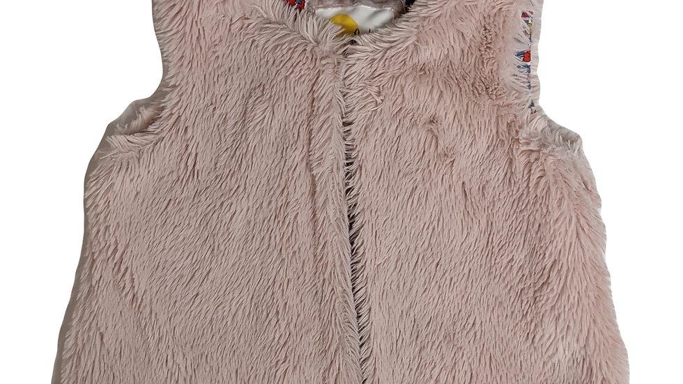 Mini BodenFaux Fur Gilet4-5years