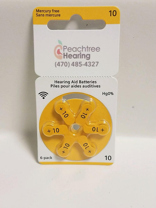 Hearing Aid Batteries - Size 10