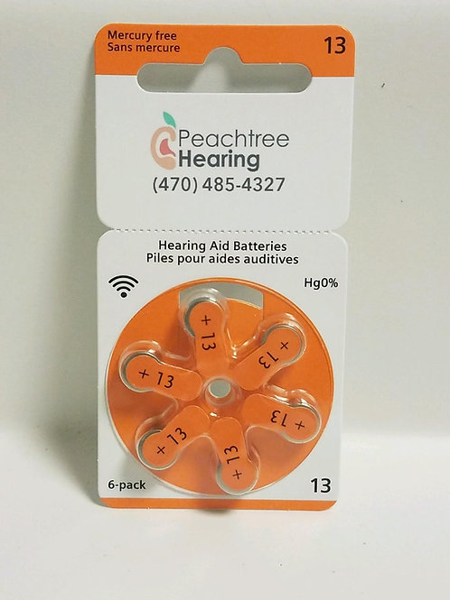 Hearing Aid Batteries - Size 13