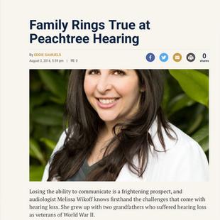 Family Rings True at Peachtree Hearing