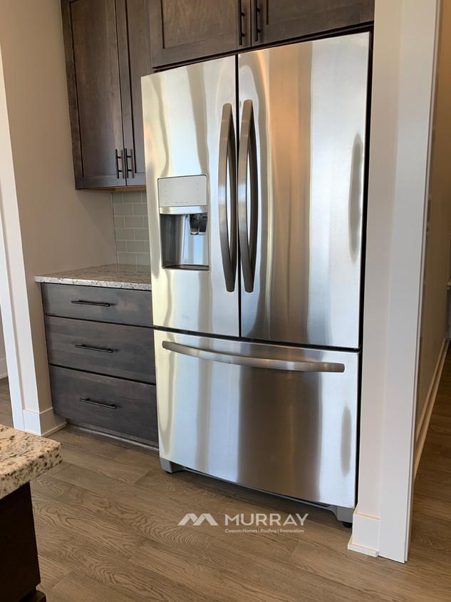 Murray Custom Home Builders Gallery SW Village Heights 6525 Refrigerator