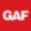 GAF roofing contractors logo