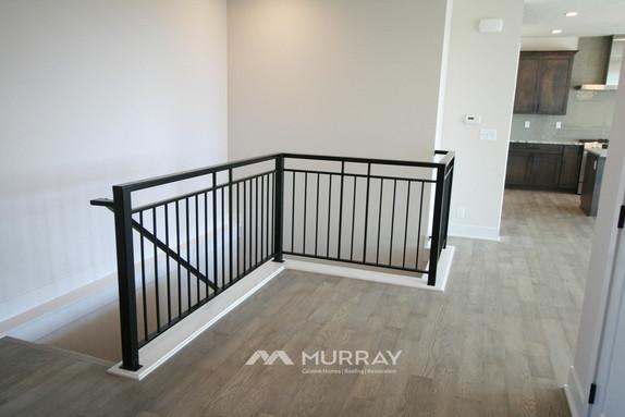 Murray Custom Home Builders Gallery SW Village Heights 6525 Stairwell Railing