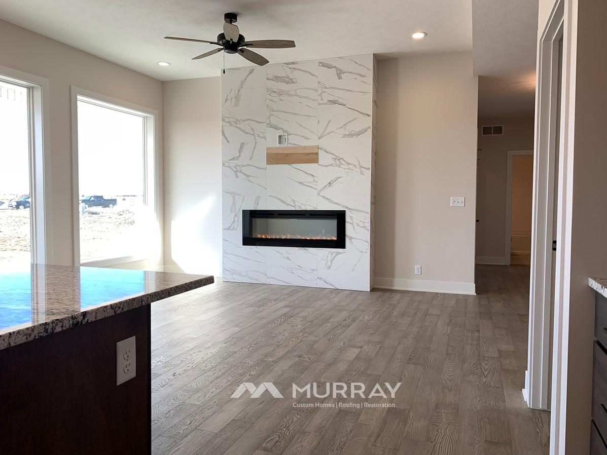 Murray Custom Home Builders Gallery SW Village Heights 6525 Main Living