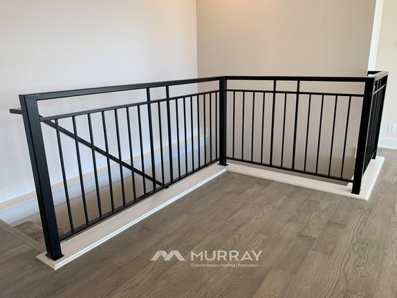 Murray Custom Home Builders Gallery SW Village Heights 6525 Stairwell Railing3