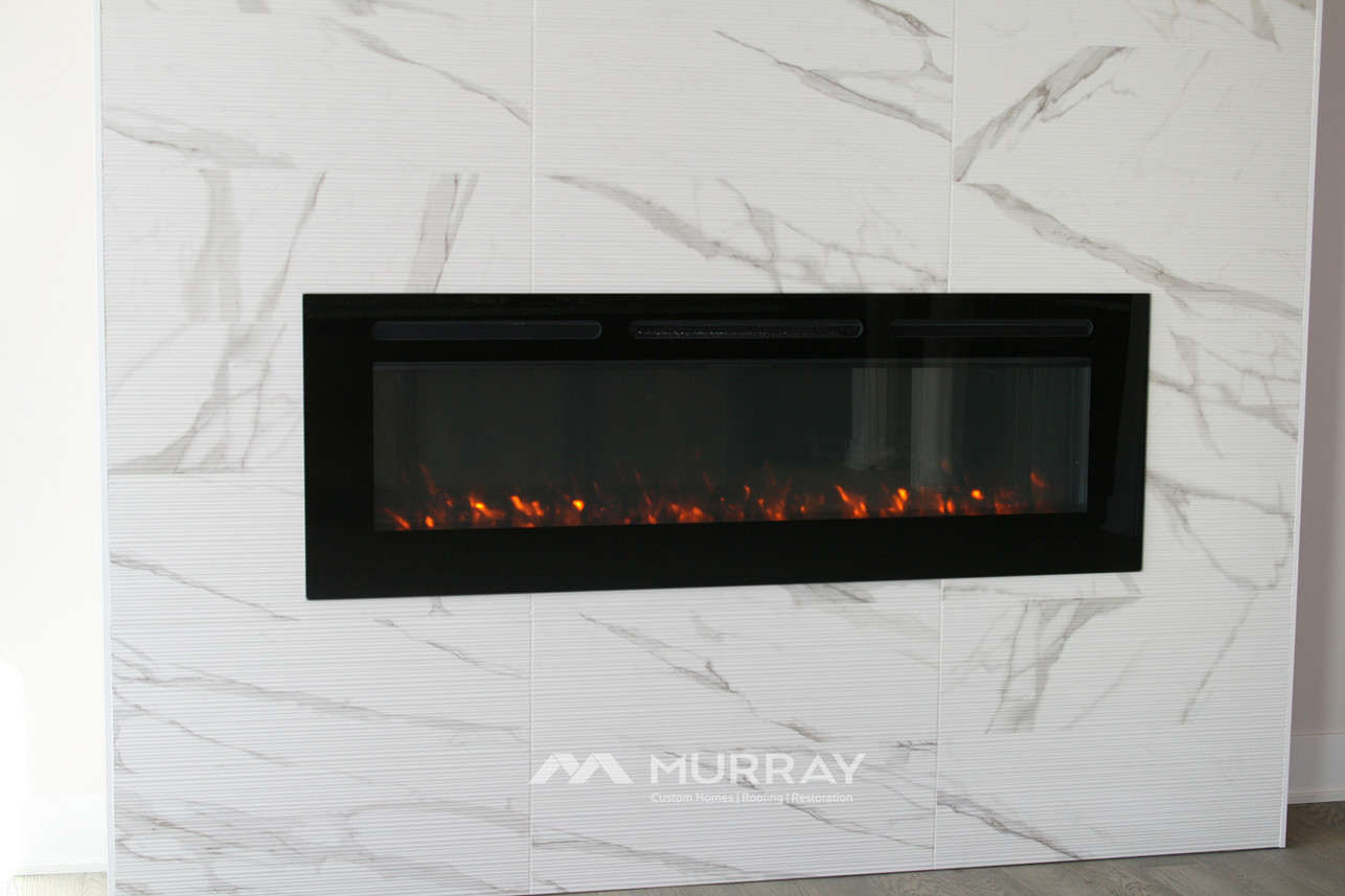 Murray Custom Home Builders Gallery SW Village Heights 6525 Main Living Fireplace