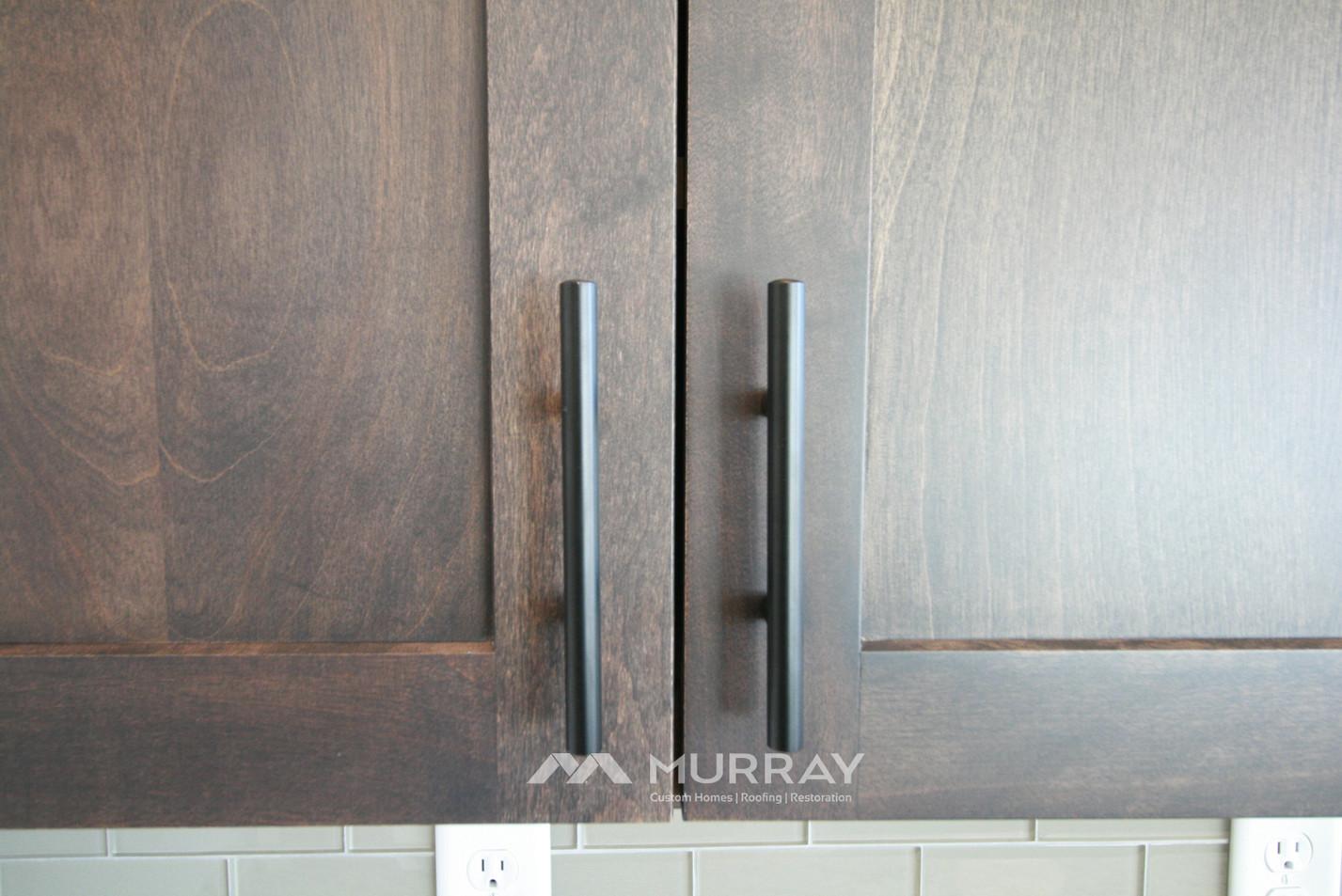 Murray Custom Home Builders Gallery SW Village Heights 6525 Kitchen Cabinet Fixture