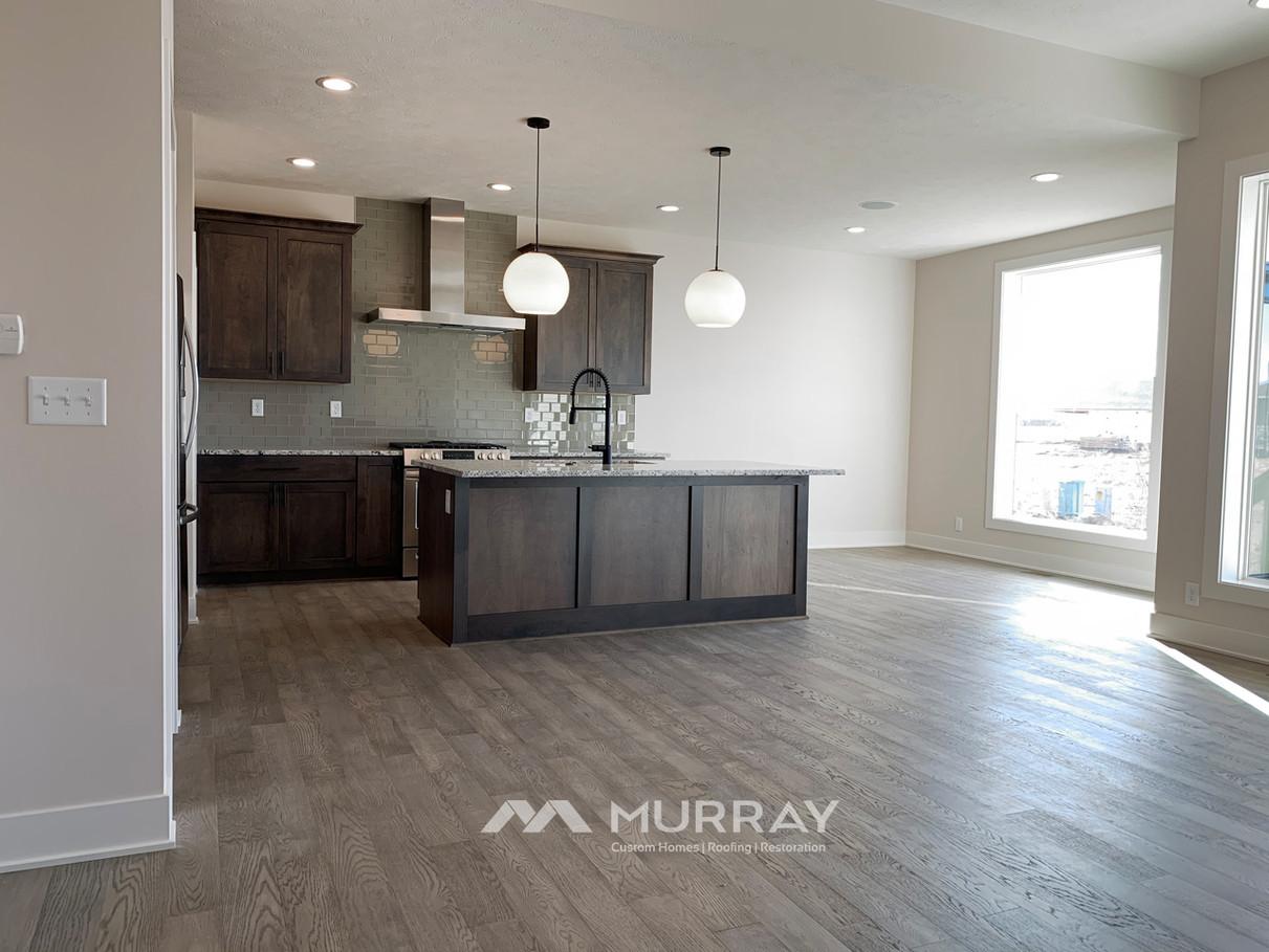 Murray Custom Home Builders Gallery SW Village Heights 6525 Main Living View