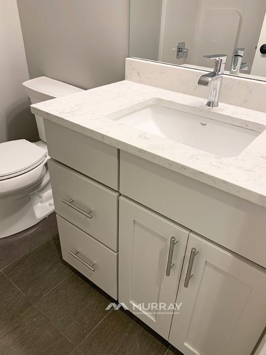 Murray Custom Home Builders Gallery SW Village Heights 6525 Basement Bath Vanity