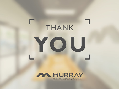 Murray Custom Homes, Roofing & Restoration Celebrate Their New Office and Showroom