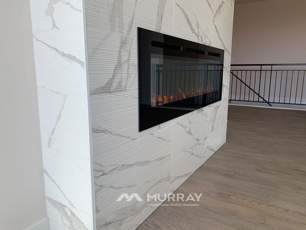 Murray Custom Home Builders Gallery SW Village Heights 6525 Fireplace